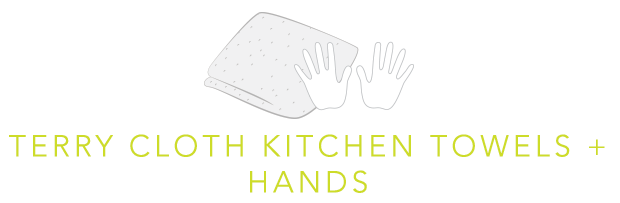 Terry Cloth Kitchen Towels Plus Hands